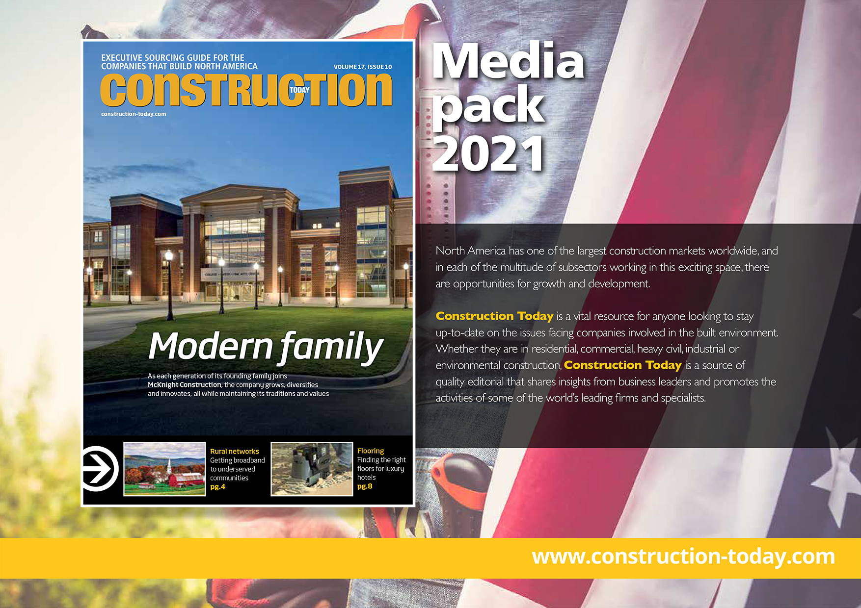 CONSTRUCTION MEDIA PACK - Front Cover